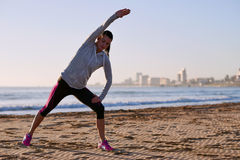 Fitness stretch Royalty Free Stock Image
