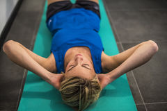 Fitness and stretching Stock Photography