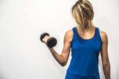 Fitness and stretching Stock Photo