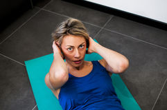 Fitness and stretching Royalty Free Stock Photography