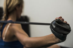 Fitness and stretching Stock Photos