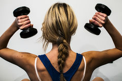 Fitness and stretching Royalty Free Stock Photo