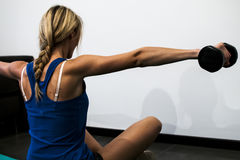 Fitness and stretching Royalty Free Stock Image