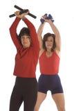 fitness szkoleniowe fizycznych kobiety zdjęcie stock