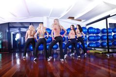 Fitness team Royalty Free Stock Images
