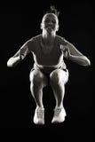 Fitness Teen jumping Royalty Free Stock Photos
