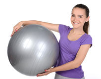 Fitness Teenager Royalty Free Stock Image