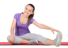 Fitness Teenager Stock Photos