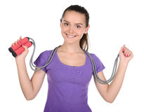 Fitness Teenager Stock Image