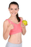 Fitness Teenager Royalty Free Stock Photo