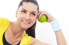 Fitness time Royalty Free Stock Photos