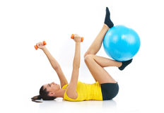 Fitness time Stock Photos