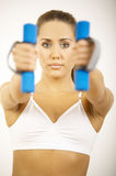 Fitness Time Stock Image