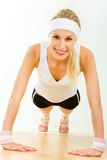 Fitness time Royalty Free Stock Photo