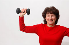 Fitness time Stock Photography