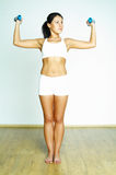 Fitness time Royalty Free Stock Image