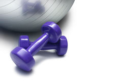 Fitness Tools Royalty Free Stock Photography
