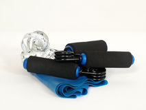 Fitness tools Royalty Free Stock Image