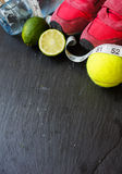 Fitness tools Stock Photography