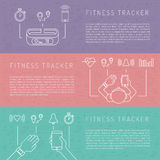 Fitness tracker 06 Stock Images