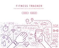 Fitness tracker 23 Royalty Free Stock Photo