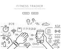Fitness tracker 11 Stock Photo