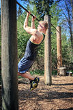 Fitness trail Stock Images