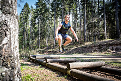 Fitness trail Stock Photography