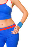 Fitness trainer. Picture of a fitness trainer Stock Images