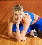 Fitness trainer Stock Images