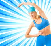 Fitness trainer Royalty Free Stock Photo