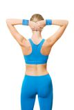 Fitness Trainer From Behind Royalty Free Stock Images