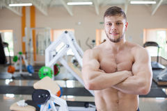 Fitness trainer Royalty Free Stock Photography