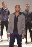 Fitness trainer Shaun Thompson attends the EFM Autumn/Winter 2016 Men's Presentation Royalty Free Stock Photography