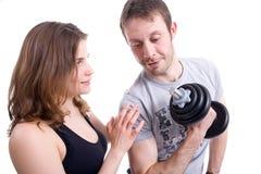 Fitness training Royalty Free Stock Image