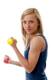 Fitness training Stock Images