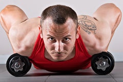 Fitness training Royalty Free Stock Photography