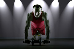 Fitness training Stock Photography