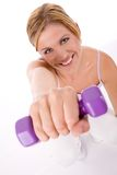 Fitness training Stock Photo