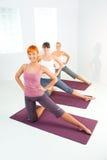 fitness training 库存照片