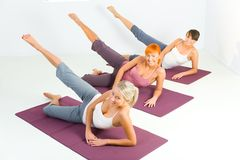 Fitness training Stock Photos