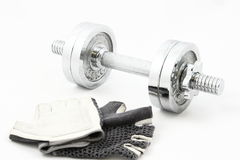 Fitness training set Stock Photos