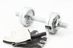 Fitness training set Stock Photos