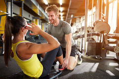 Fitness training Royalty Free Stock Photography