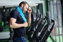 Fitness treadmill Stock Photos