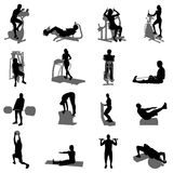 Fitness vector Stock Image
