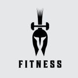 Fitness vector design template Stock Photos