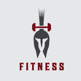 Fitness vector design template Stock Images