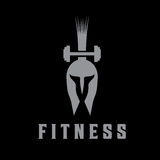 Fitness vector design template Royalty Free Stock Image