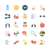 Fitness Vector Icons 2 Stock Photos